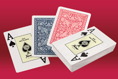 Photo of Fournier 2818 100% plastic playing cards for poker