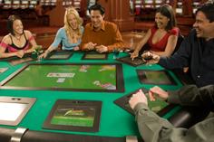 Photo of Lightning Poker electronic poker table for poker room