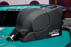 Photo of shuffle machine one2six OTS, equipment for casino poker and black jack